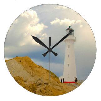 Lighthouse - Round Clock