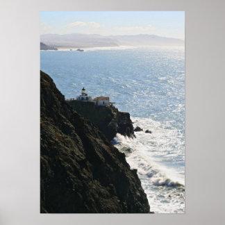 Lighthouse, San Fransisco Bay, 1 of 4 Poster