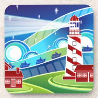 Lighthouse Scene Coaster