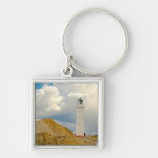 Lighthouse scene - keychain