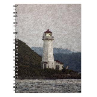 Lighthouse Scenic Art Notebooks