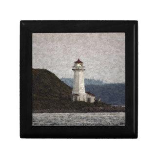 Lighthouse Scenic Art Trinket Boxes