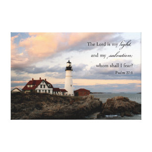 Lighthouse Scripture Wall Art Christian Home Decor  sc 1 st  Zazzle & Christian Wrapped Canvas Prints | Zazzle