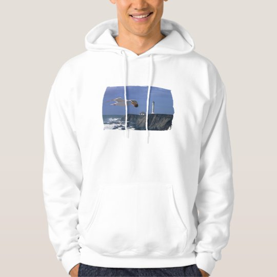 Lighthouse & Seagull Hoodie