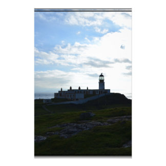 Lighthouse Silhouette Stationery