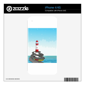 Lighthouse Skins For The iPhone 4S