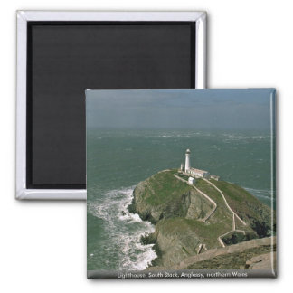 Lighthouse, South Stack, Anglessy, northern Wales Magnet