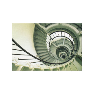 lighthouse staircase canvas prints