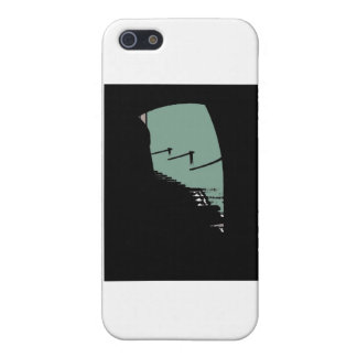 Lighthouse Steps in Green Cover For iPhone SE/5/5s