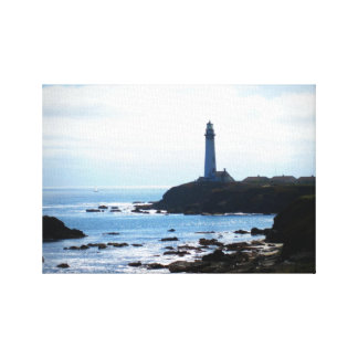 Lighthouse Stretched Canvas Print