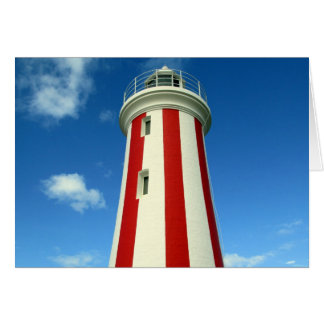 lighthouse stripes card