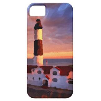 Lighthouse sunrise iphone iPhone SE/5/5s case