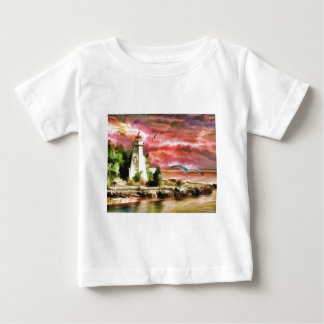 Lighthouse Sunset Baby T-Shirt