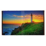 Lighthouse Sunset iPad Cases