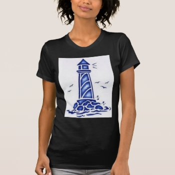 Lighthouse T-shirt by CREATIVEBRANDING at Zazzle