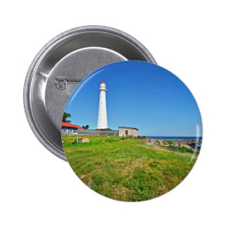 Lighthouse Themed 2 Inch Round Button