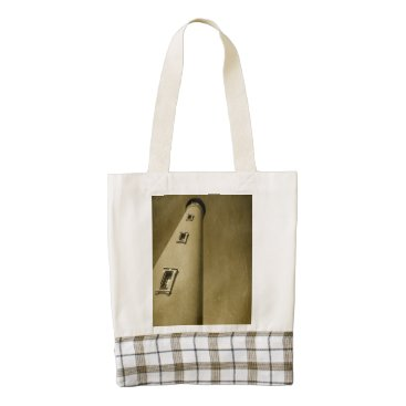 Beach Themed Lighthouse Tote