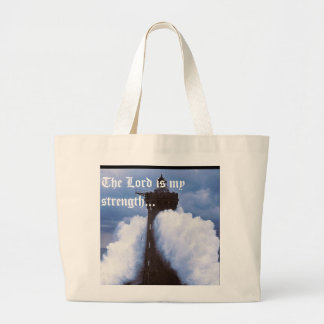 Lighthouse tote canvas bags