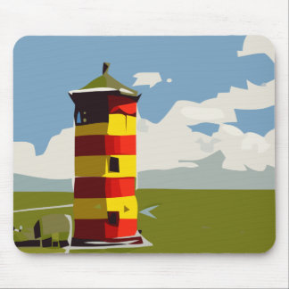 Lighthouse Tower Mouse Pad