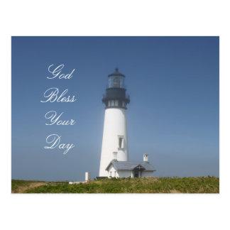 Lighthouse Travel in Oregon Postcard