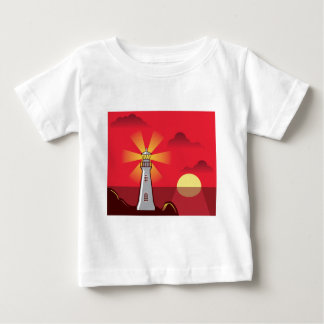 Lighthouse Vector color Baby T-Shirt