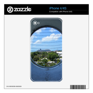 Lighthouse view of Mallory Square iPhone 4S Skins
