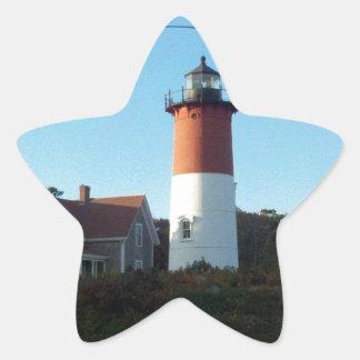 Lighthouse Views Star Sticker
