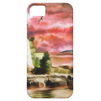 lighthouse water painting iPhone SE/5/5s case