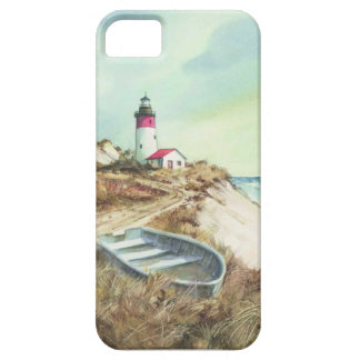 lighthouse watercolor iPhone SE/5/5s case