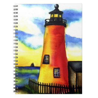lighthouse  Watercolor notebook journal