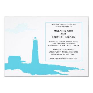 Lighthouse Wedding Invitation