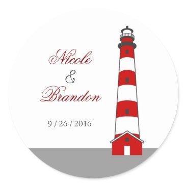 marlenedesigner Lighthouse Wedding Sticker