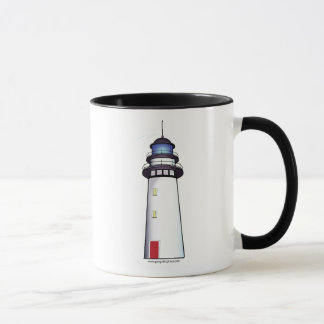 Lighthouse with Red Door Mug