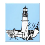 Lighthouse Wrapped Canvas Canvas Prints