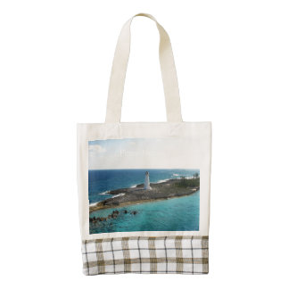 Lighthouse Zazzle HEART Tote Bag
