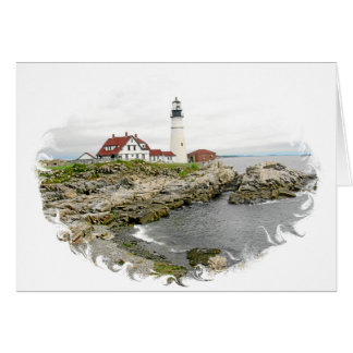 LIGHTHOUSES CARD