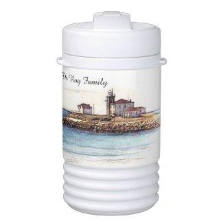 lighthouses igloo cooler one quart or half gallon igloo beverage cooler