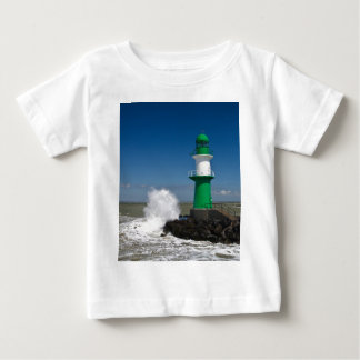 Lighthouses in Warnemuende Baby T-Shirt