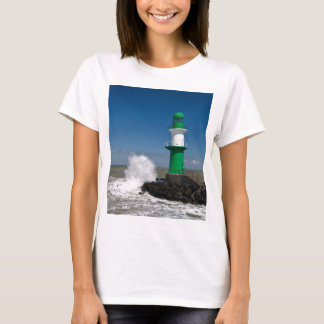 Lighthouses in Warnemuende T-Shirt