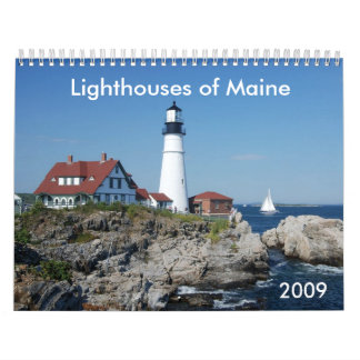 Lighthouses of Maine 2009 Calendar