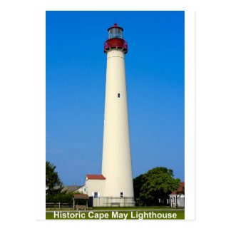 Lighthouses of New Jersey Postcard