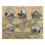 Lighthouses of the Pontchartrain Basin Poster