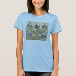 Lighthouses of the Pontchartrain Basin T-Shirt