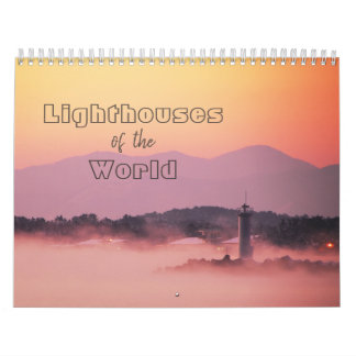 Lighthouses of the World 12-Month Calendar