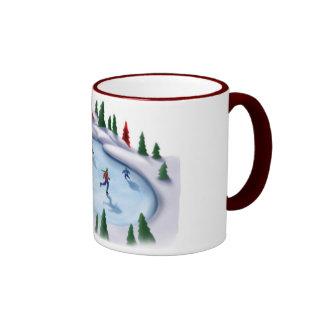 Lightin up the ice mugs