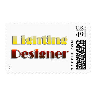 Lighting Designer (Text Only) Postage Stamps