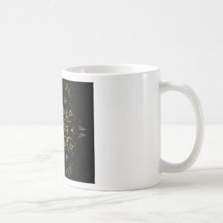Lighting mandala coffee mug