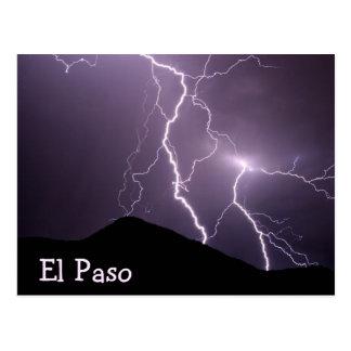 Lighting Mountain Postcard