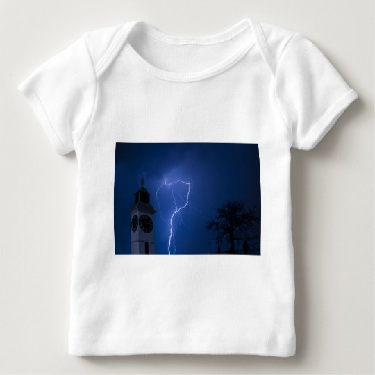 lighting - stormy night baby T-Shirt