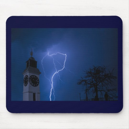 lighting - stormy night mouse pad